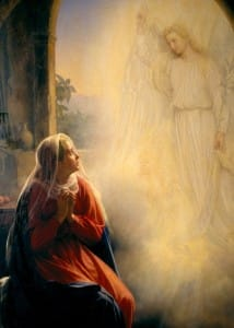 Annunciation Carl Heinrich Bloch
