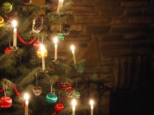 Tree With Candles