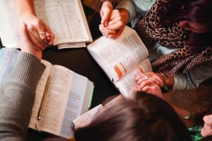 Small group Catholic Bible Study