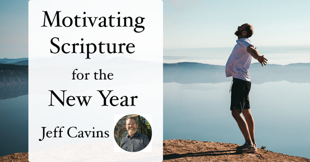 motivating scripture for the new year with Jeff Cavins