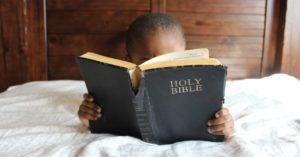 family Bible study